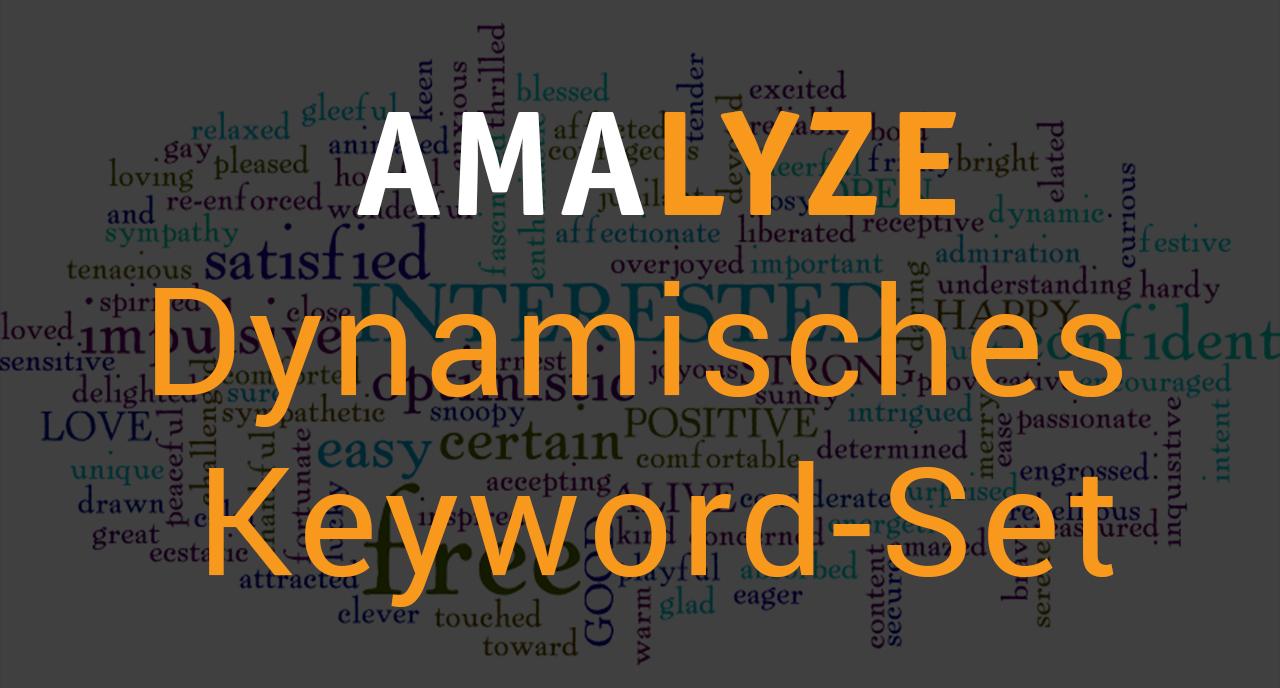Dynamisches Keyword-Set