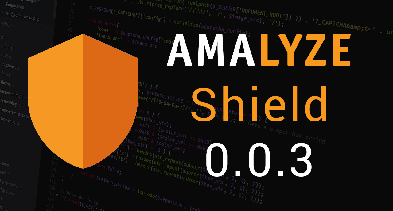 AMALYZE Shield 0.0.3