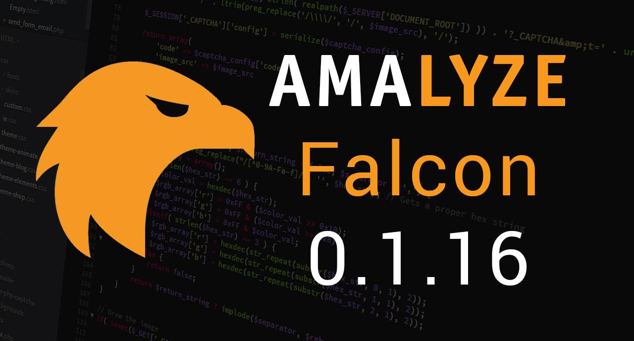 AMALYZE Falcon 0.1.16