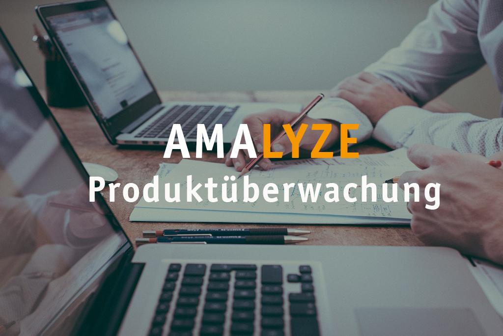 AMALYZE Produktüberwachung