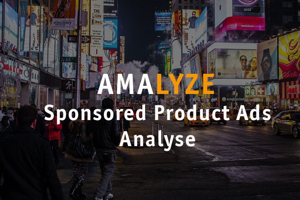 AMALYZE Sponsored Product Ads Analyse