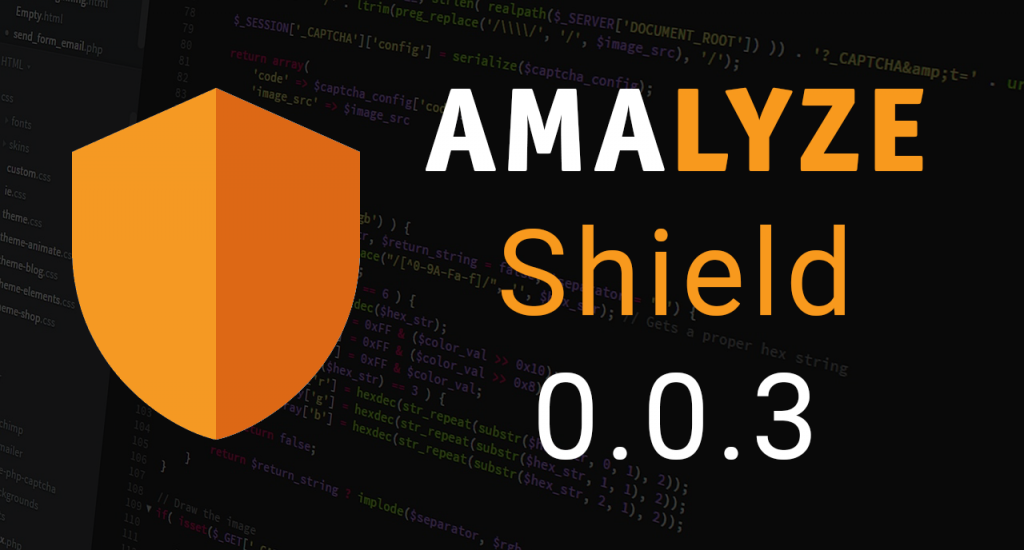 AMALYZE SHIELD Version 0.0.3