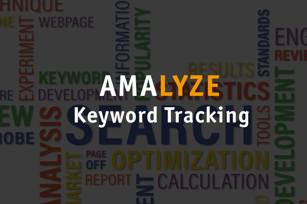 AMALYZE Keyword Tracking