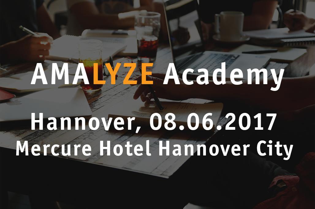 AMALYZE Academy 2017