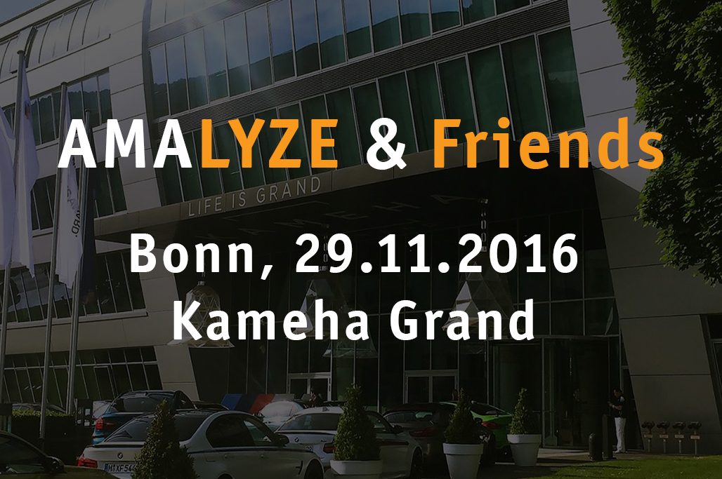 AMALYZE & Friends 2016