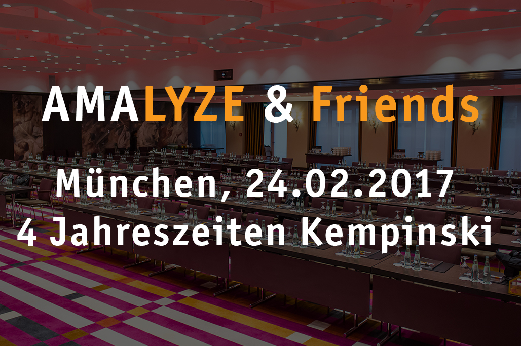 AMALYZE & Friends 2017 Februar
