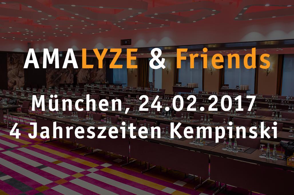 AMALYZE & Friends 2017 Februar
