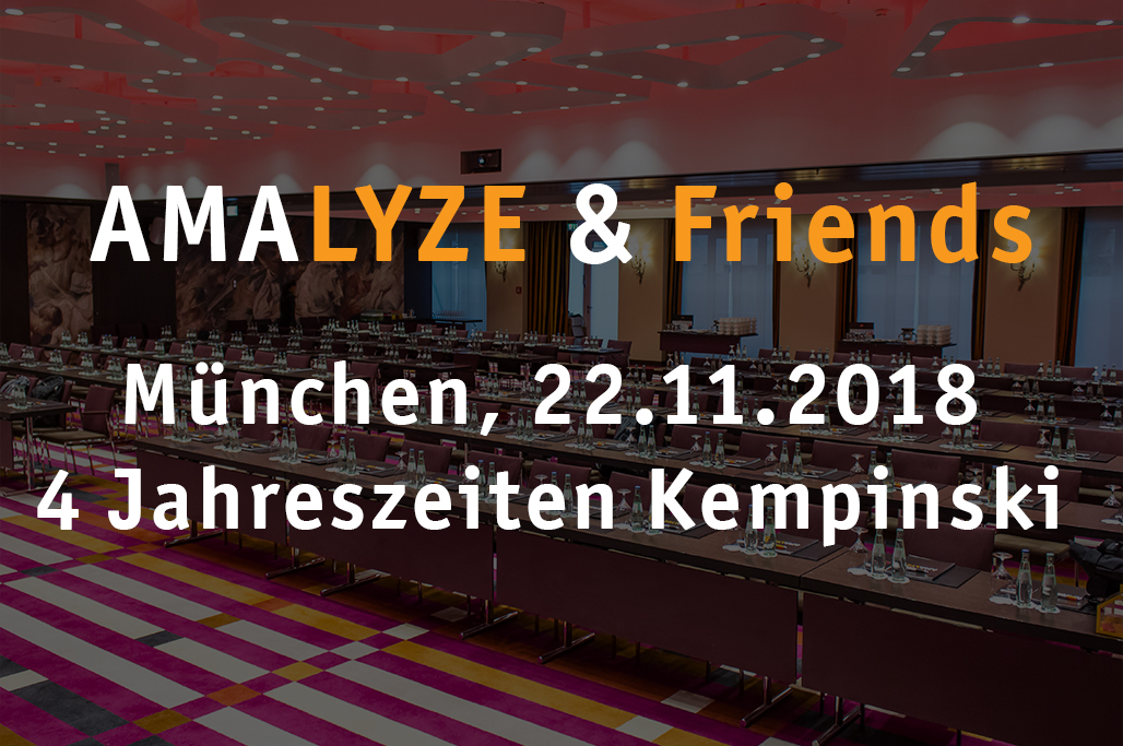AMALYZE & Friends 2018