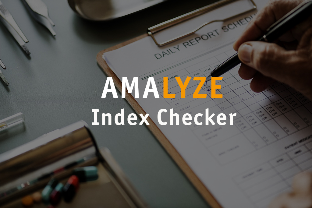 AMALYZE Index Checker