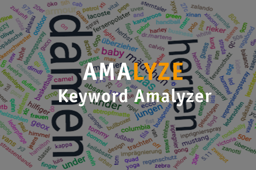 AMALYZE Keyword Amalyzer