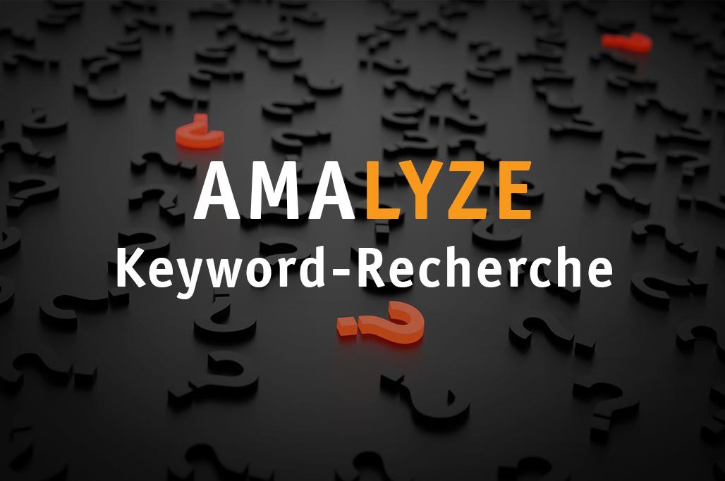 AMALYZE Product Research