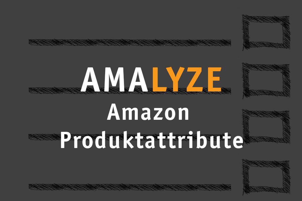 Amazon Produktattribute