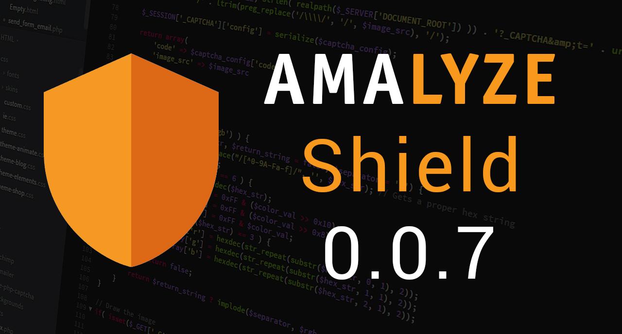 AMALYZE Shield 0.0.7