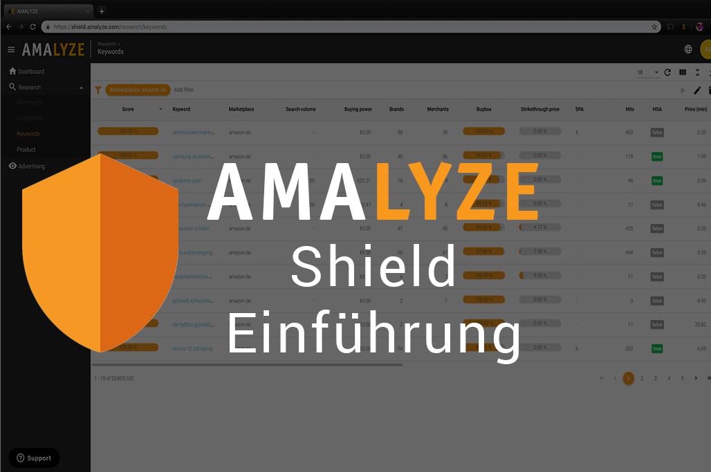 AMALYZE Shield Einführung