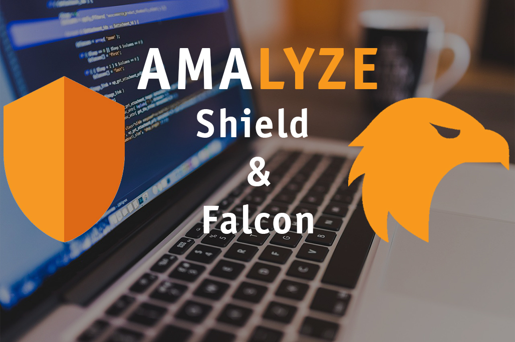 AMALYZE Shield & Falcon