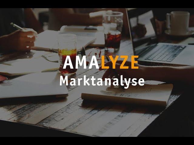 Aufzeichnung - Marktanalyse mit AMALYZE