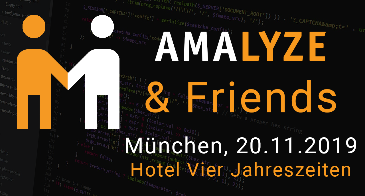 AMALYZE & Friends München, Amazon Konferenz für Amazon Seller, Vendoren, Privatel Label Händler